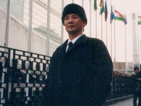 宋奇峰在联合国