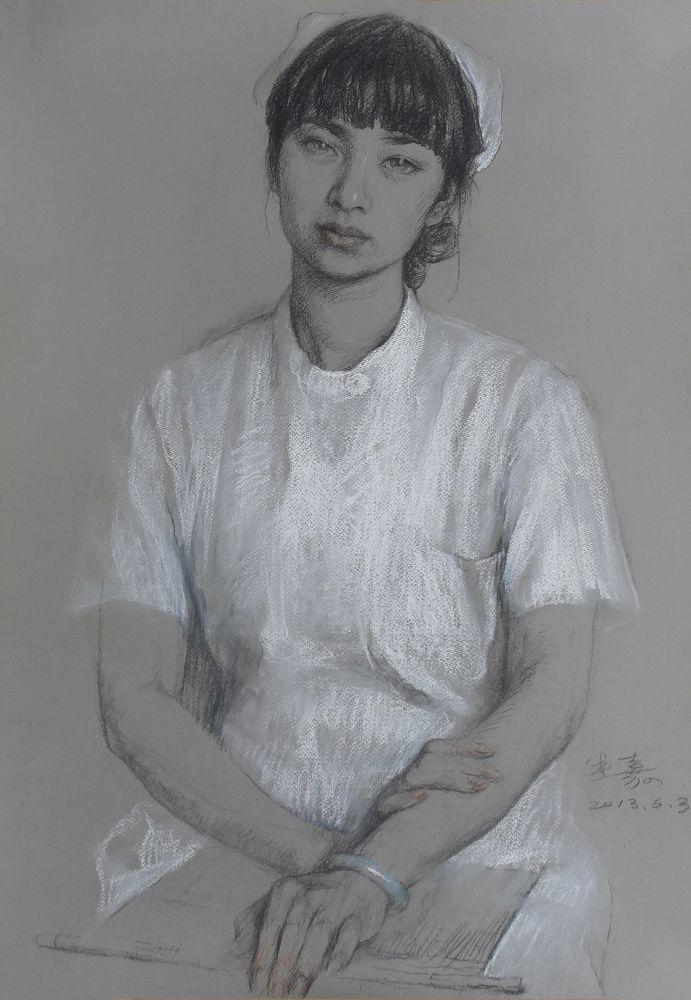 护士小盼(郝米嘉素描)