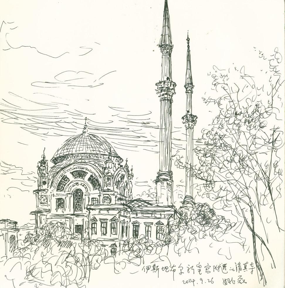 《伊斯坦布尔速写之一》