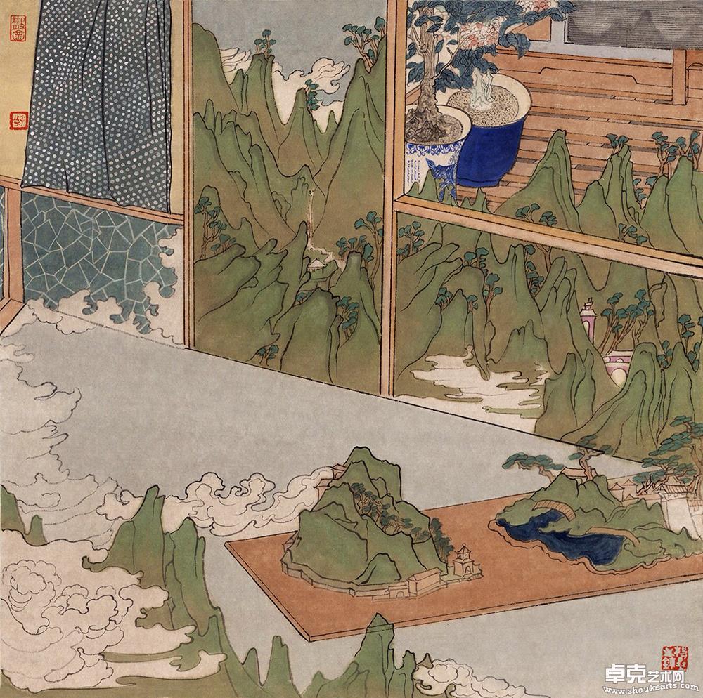 《室间的风景》系列作品之二