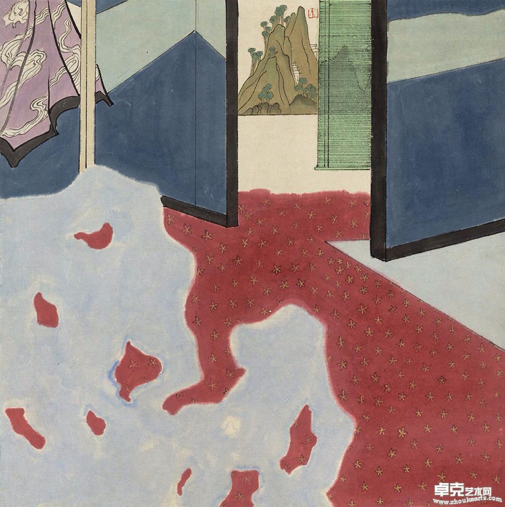 《室间的风景》系列作品之一