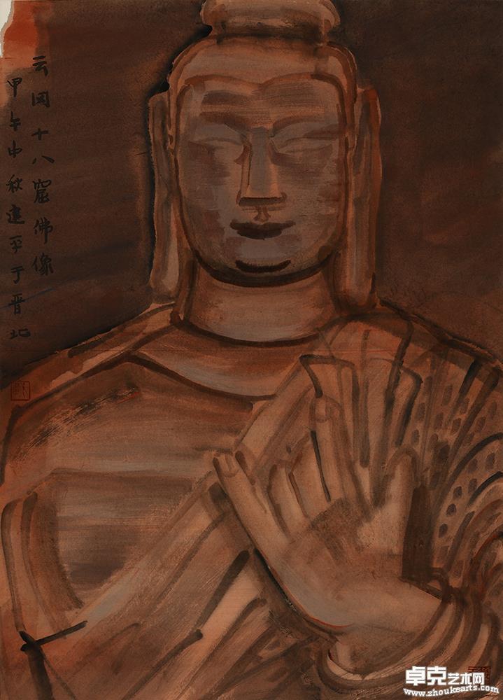 佛陀·云冈第18窟造像