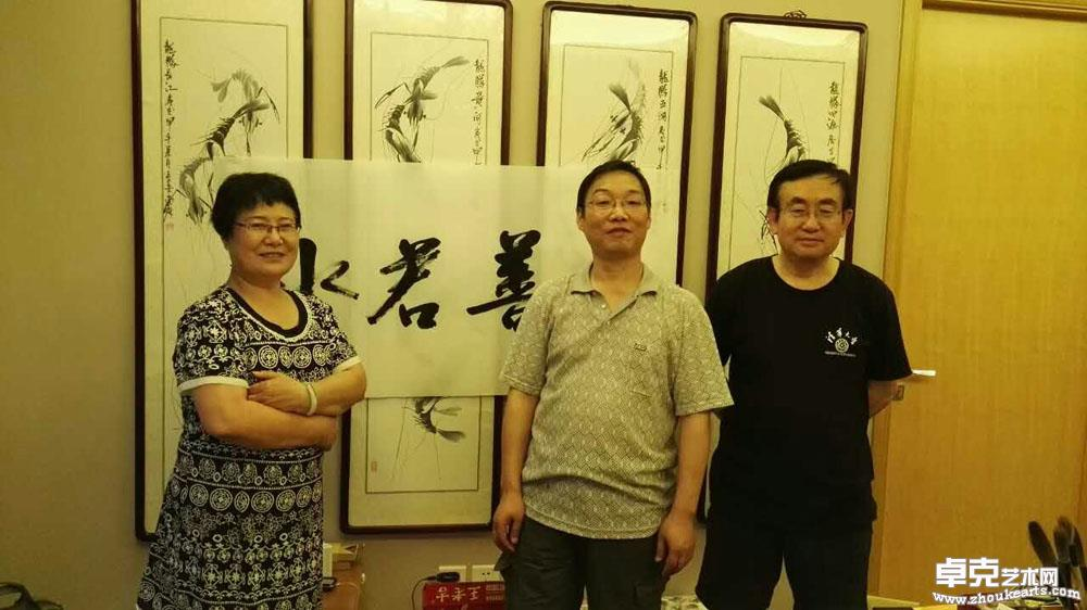 拜访中国国学书画研究院院长尚林女士