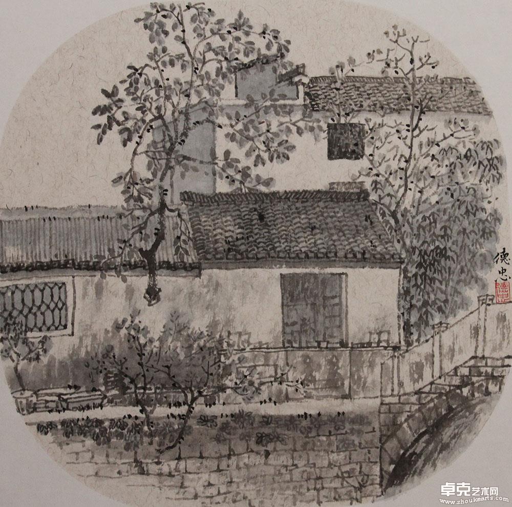 龙川·一颗树干穿壁出