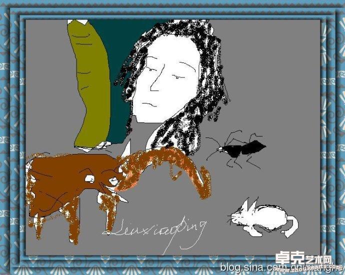 另一种涂鸦《蚂蚁大象》