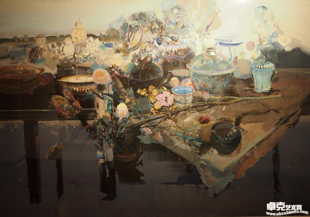 《物语》四川省美术作品展优秀奖第十二届全国美术作品展