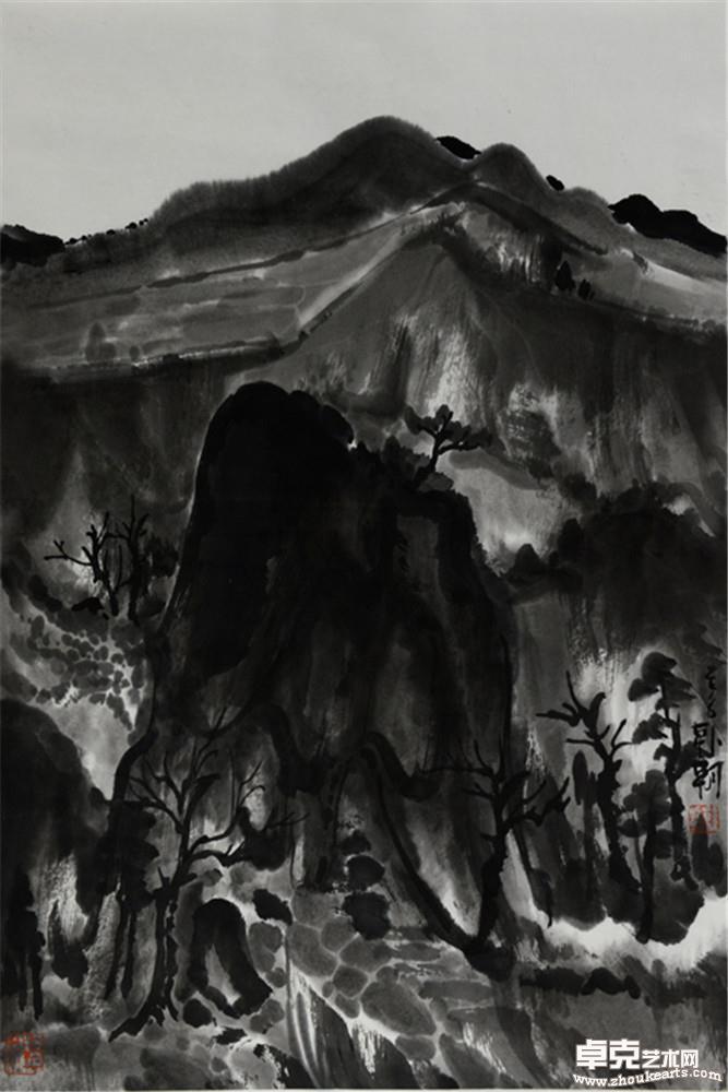夜山系列之雁翅