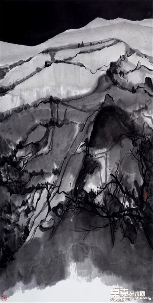 夜山系列之月白