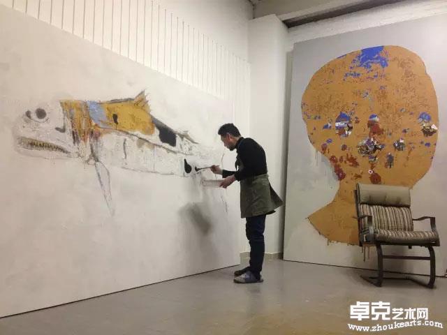 2015,北京环铁艺术城工作室