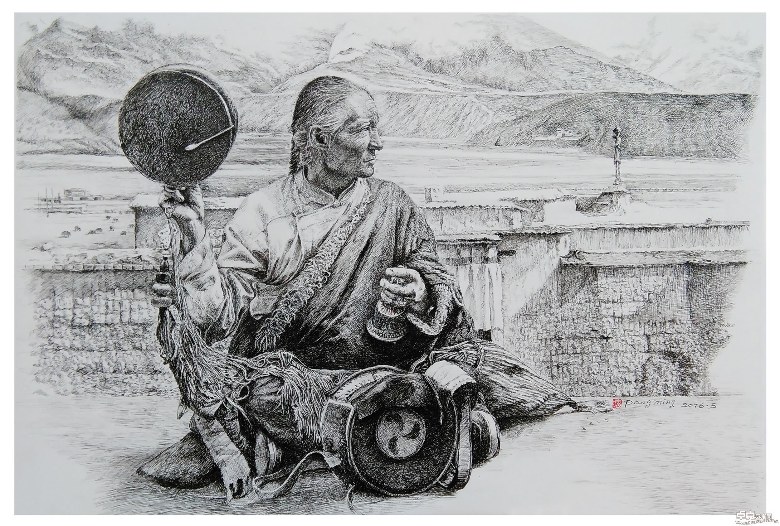 风情西藏系列.咏唱