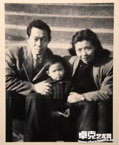 与谢景兰与他们的儿子赵嘉陵