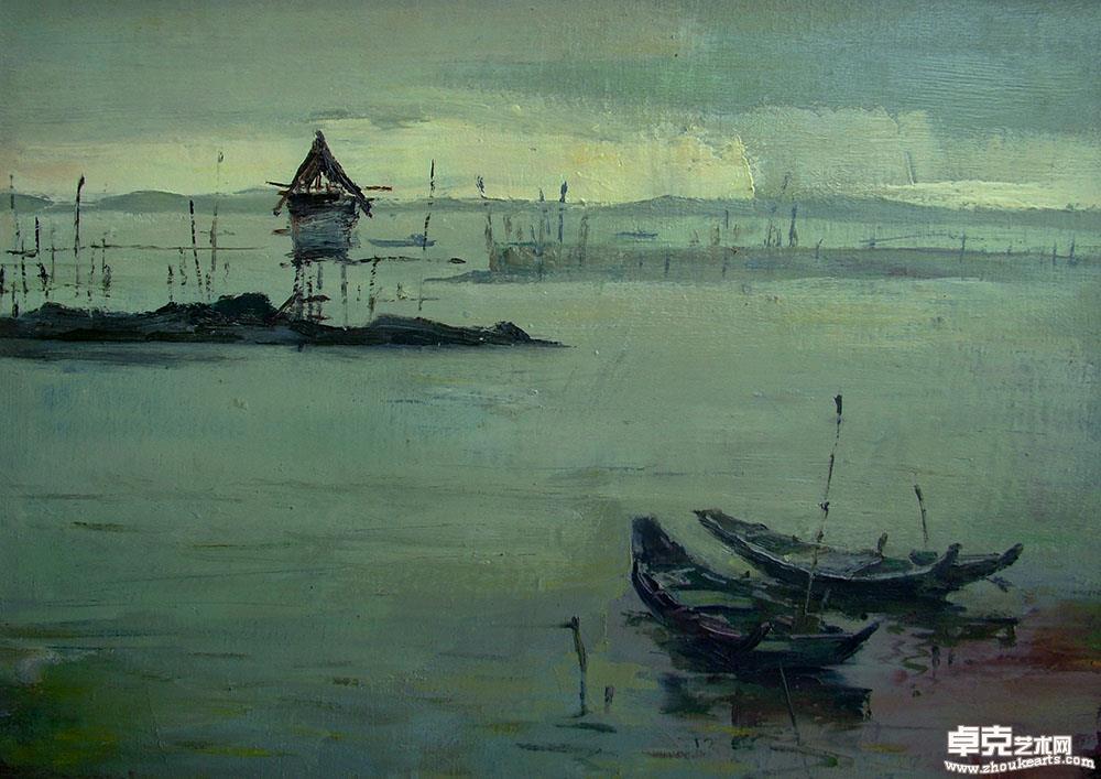风景  海边黄昏