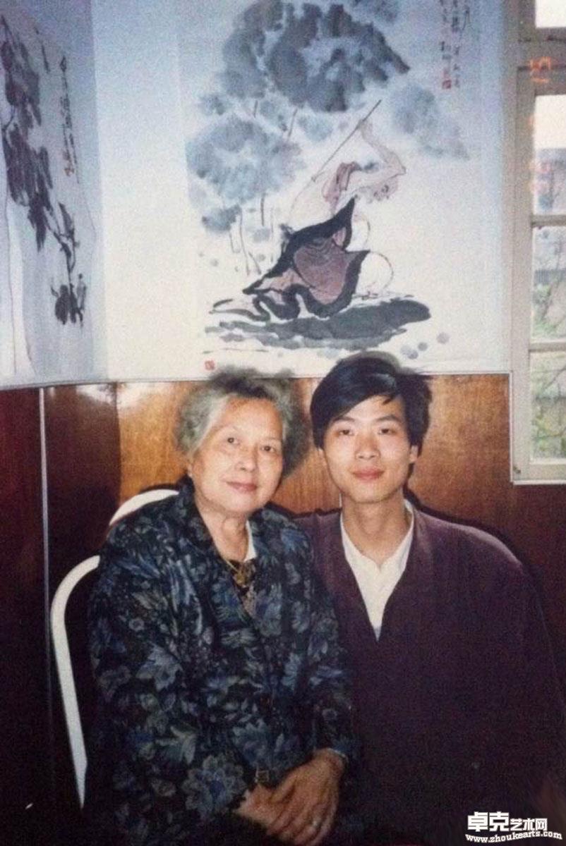 (1992年)和师母(顾炳鑫夫人)年)