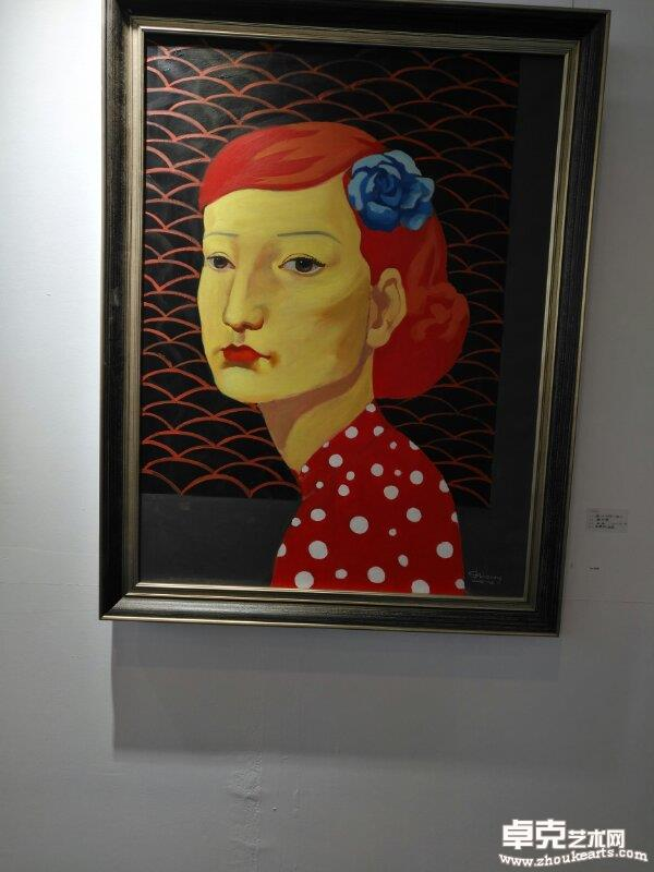 海外华人美协首次在北京大地艺术展出,理事谢世增作品是展览大亮点