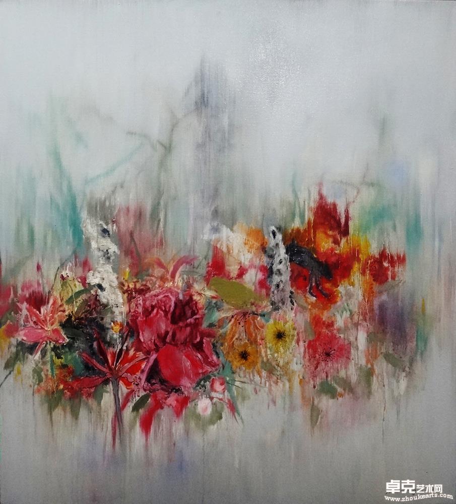 《 花红湿处》
