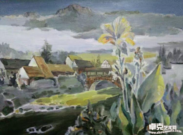 玉带村前绕