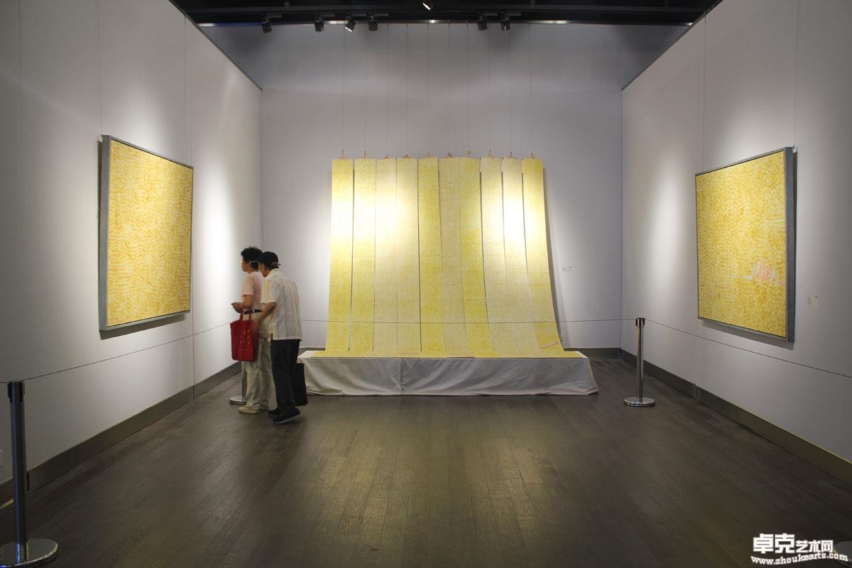 改造水墨现场     金陵美术馆   2014年
