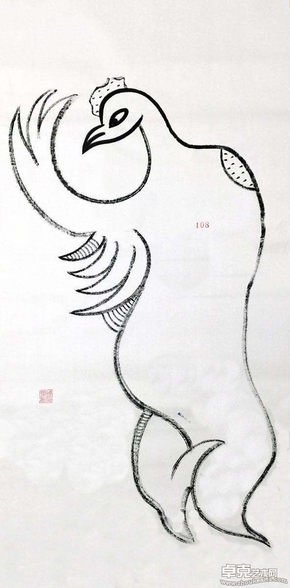 妖鸡系列作品之108号