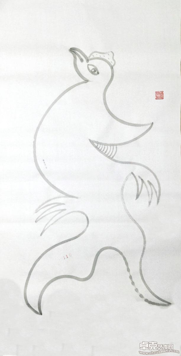 妖鸡系列作品之110号