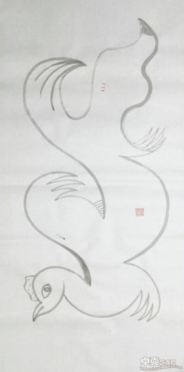 妖鸡系列作品之111号