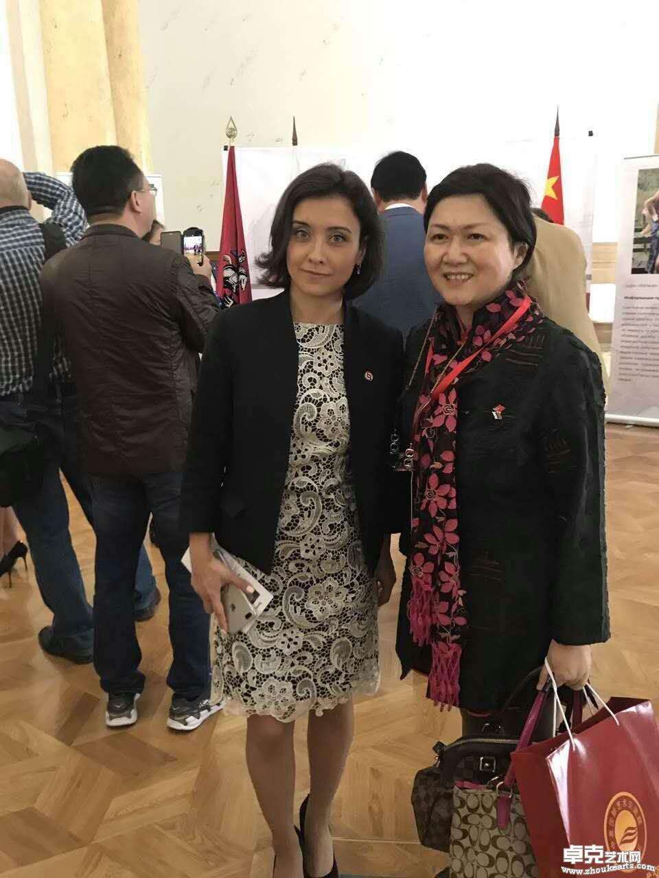 横滨国际刘少奇曾孙女,刘丽达,俄罗斯杜马议员,负责中俄文化交流