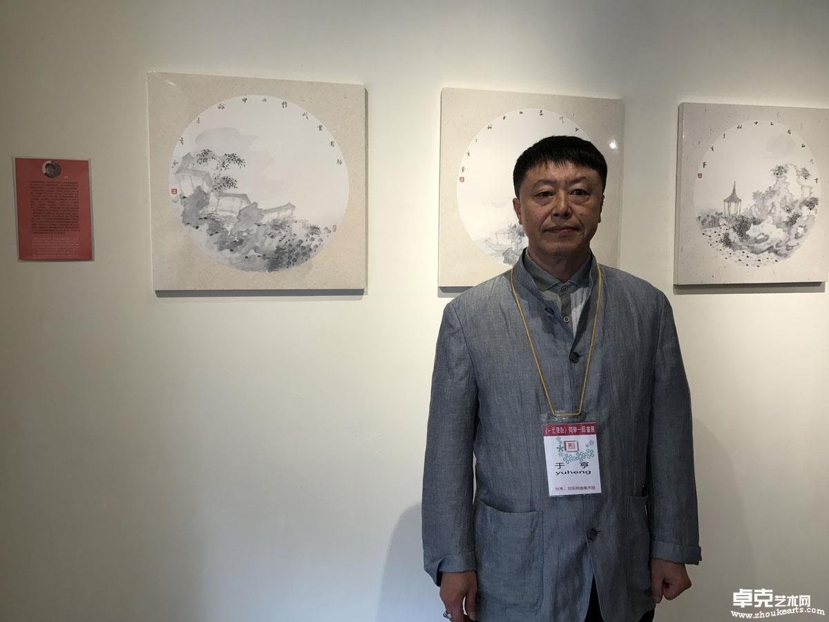 台湾展览~在展厅