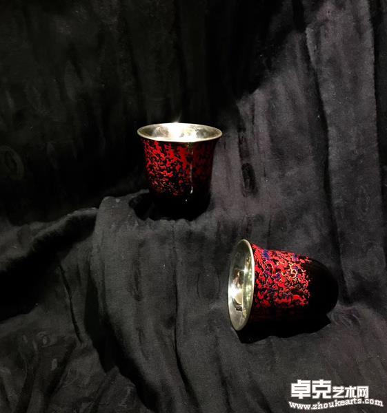 《漆彩银杯系列3》