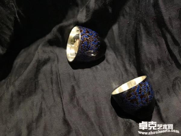 《漆彩银杯系列2》