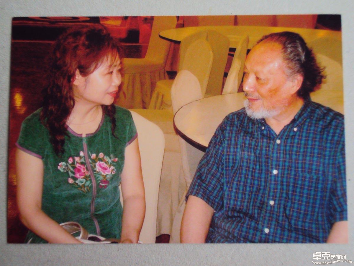 在驻深圳期间拜访王子武先生