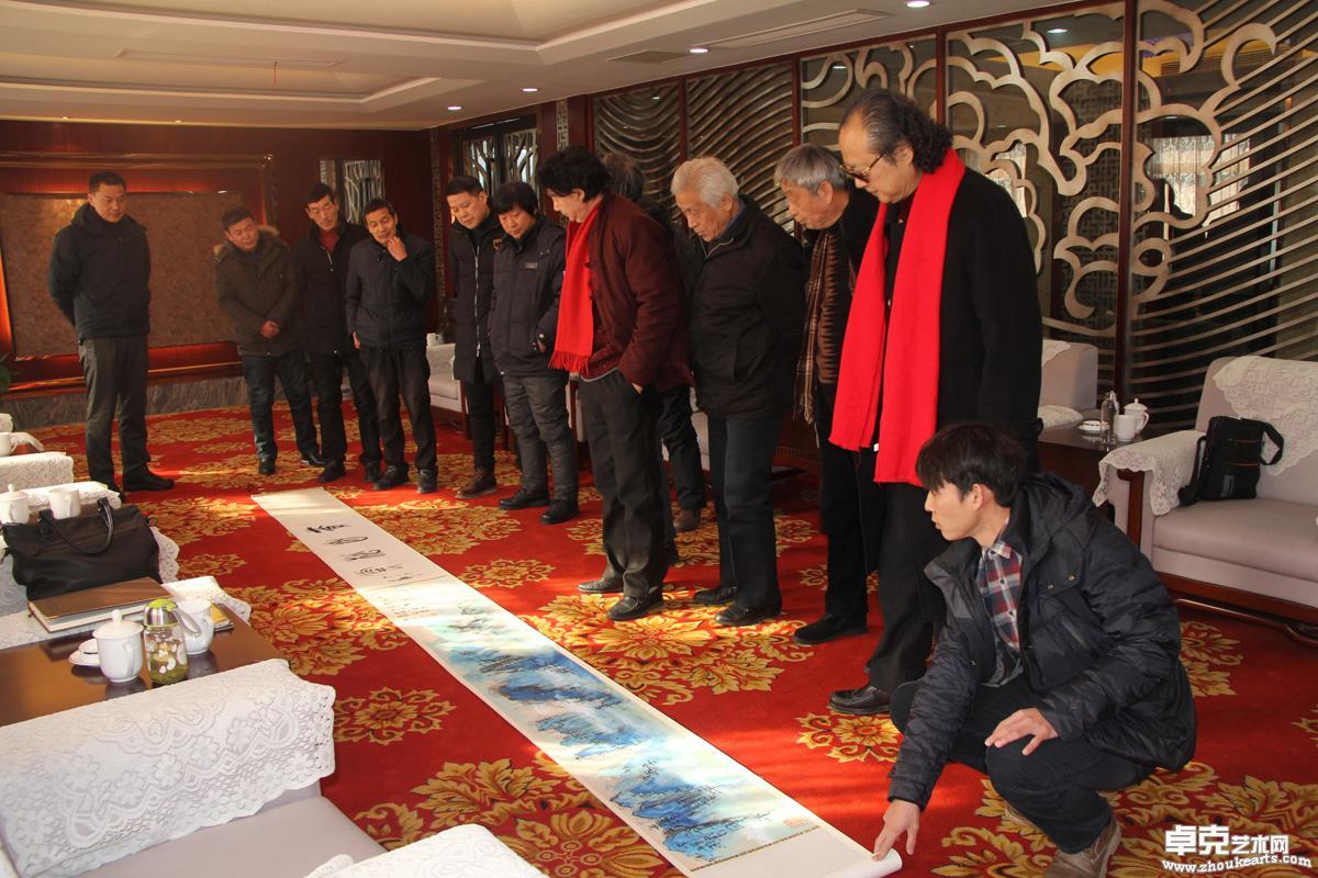 中国东方国画院2018年会于昆山周市商会顺利召开